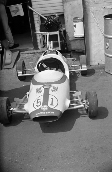 Bobby Marshman's Lindsey Hopkins-entered Lotus 34 Ford.