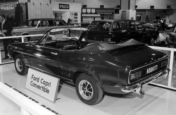 Abbott Ford Capri cabriolet conversion.