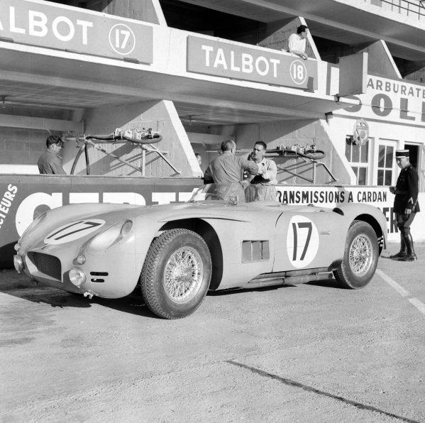 Louis Rosier / Jean Behra, Automobiles Talbot, Talbot - Maserati.