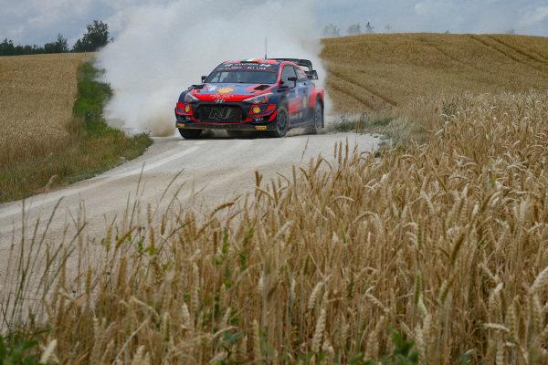 Craig Breen (IRE), Hyundai World Rally Team, Hyundai i20 Coupe WRC 2021