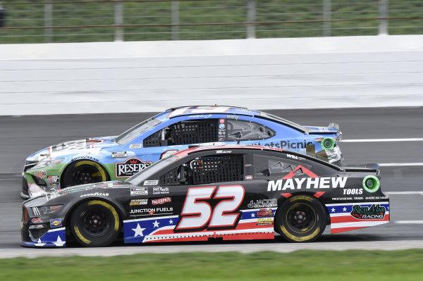 #19: Martin Truex Jr., Joe Gibbs Racing, Toyota Camry Resers Fine Foods #LetsPicnic, #52: Josh Bilicki, Rick Ware Racing, Ford Mustang