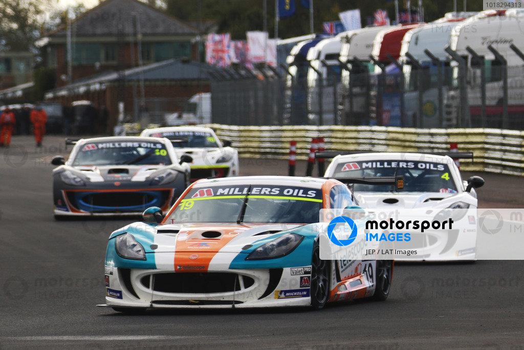 Carl Garnett - AK Motorsport Ginetta G55