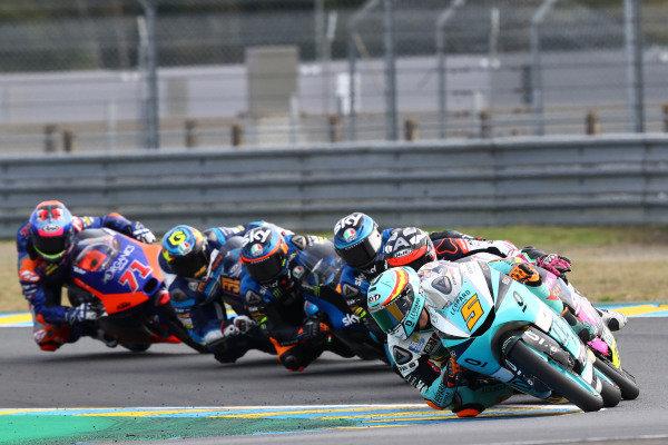 Jaume Masia, Leopard Racing leads.