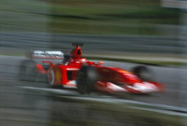 2002 Austrian Grand Prix.A1-Ring, Zeltweg, Austria.10-12 May 2002.Michael Schumacher (Ferrari F2002) 1st position.Ref-02 AUT 24.World Copyright - LAT Photographic