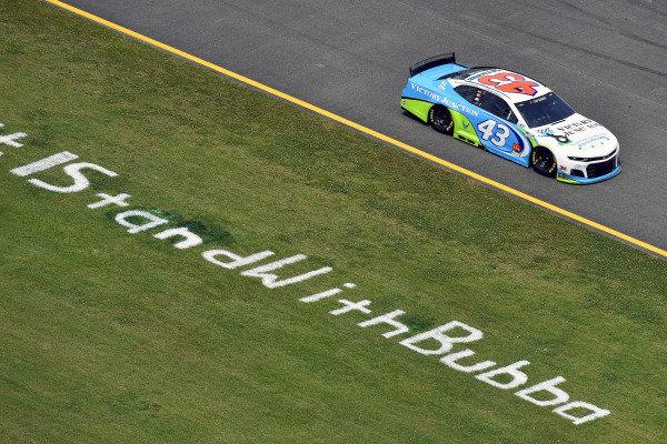 #43: Darrell Wallace Jr., Richard Petty Motorsports, Chevrolet Camaro Victory Junction
