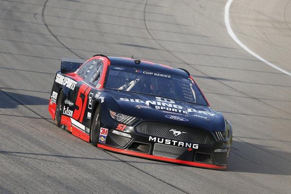 #51: James Davison, Petty Ware Racing, Ford Mustang