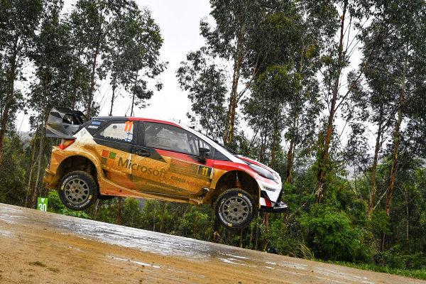 Esapekka Lappi (FIN) / Janne Ferm (FIN), Toyota Gazoo Racing WRT Toyota Yaris WRC at World Rally Championship, Rd13, Rally Australia, Day Three, Coffs Harbour, New South Wales, Australia, 19 November 2017.