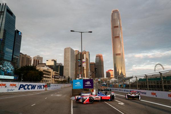 2017/2018 FIA Formula E Championship. Round 1 - Hong Kong, China. Saturday 02 December 2017. Nick Heifeld (GER), Mahindra Racing, Mahindra M4Electro. Photo: Sam Bloxham/LAT/Formula E ref: Digital Image _J6I3744