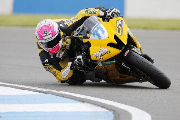 2015 World Supersport Championship.  Donington Park, UK.  23rd - 24th May 2015.  Kyle Ryde, Pacedayz Yamaha.  Ref: KW7_5055a. World copyright: Kevin Wood/LAT Photographic