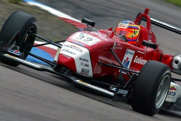 Rodolfo Gonzalez (VEN) T-Sport British Formula Three, Thruxton, England.23rd September 2006DIGITAL IMAGE