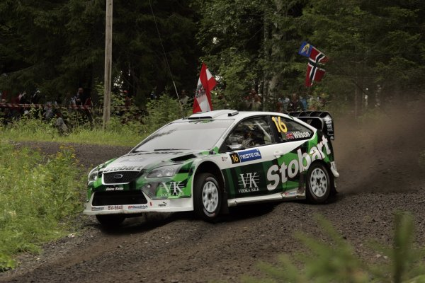 2007 FIA World Rally Champs. Round nineRally Finland.2nd-5th August 2007.Matthew Wilson, Ford, action.World Copyright: McKlein/LAT