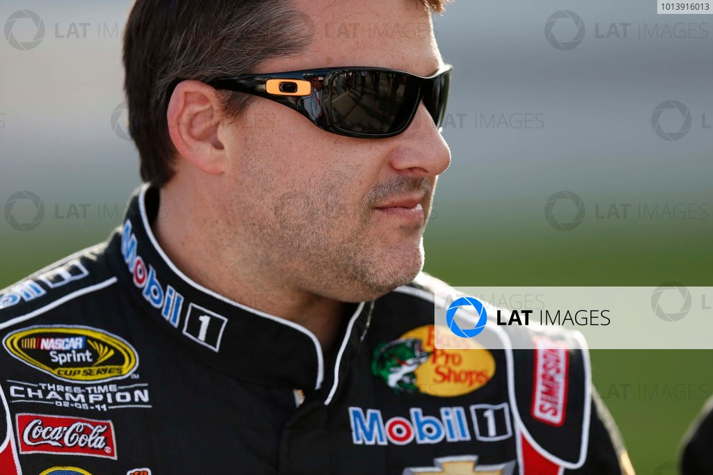 11-13 April, 2013, Fort Worth, Texas, USA Tony Stewart © 2013, Michael L. Levitt LAT Photo USA.