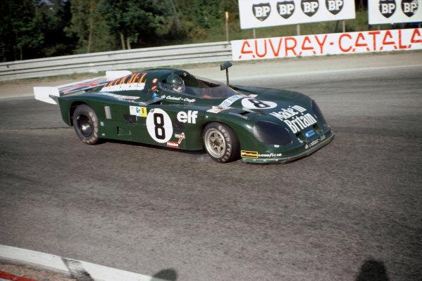 Le Mans, France. 10th - 11th June 1978 Chris Craft/Alain de Cadenet (De Cadenet Lola LM-Ford Cosworth), 15th position, action. World Copyright: Murenbeeld/LAT PhotographicRef: 78LM