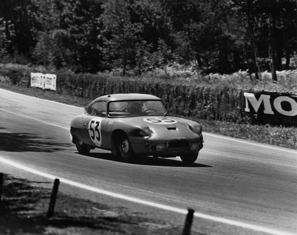 Le Mans, France. 23rd - 24th June 1962 Andre Guilhaudin/Alain Bertaut (CD Panhard), 16th position, action. World Copyright: LAT Photographic Ref:  Autocar Used Pic 29th June 1962 Pg 1060.