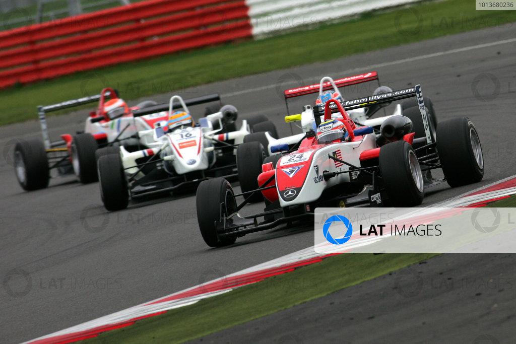 Silverstone, Northamptonshire. 7th - 9th October 2011.Fahmi Ilyas (MAL) Fortec Motorsport Dallara Mercedes.World Copyright: Ebrey/LAT Photographic.
