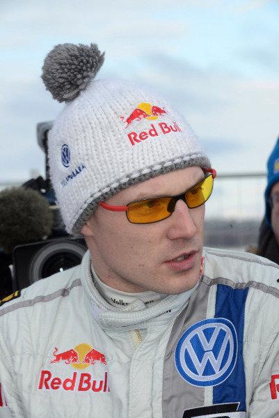 Jari-Matti Latvala (FIN).FIA World Rally Championship, Rd2, Rally Sweden, Karlstad, Sweden, Day One, Friday 8 February 2013