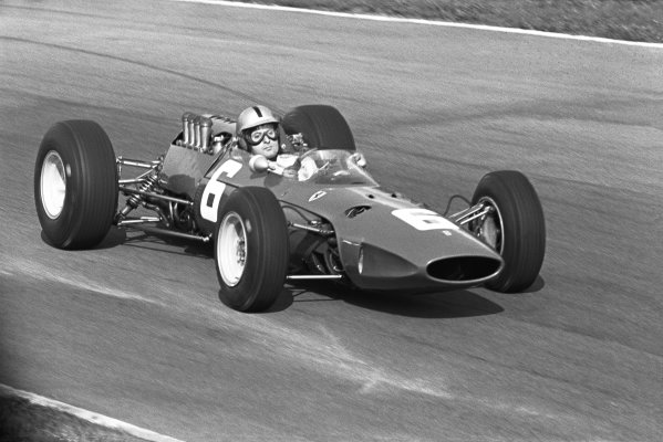 Monza, Italy. 12 September 1965.Nino Vaccarella, Ferrari 1512, retired, action.World Copyright: LAT Photographic