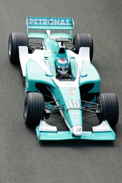2005 GP2 Series - Great BritainSilverstone , England8th - 10th July 2005Friday QualifyingFairuz Fauzy (MAL, DAMS). Action. World Copyright: GP2 Series Media Service ref: Digital Image Only