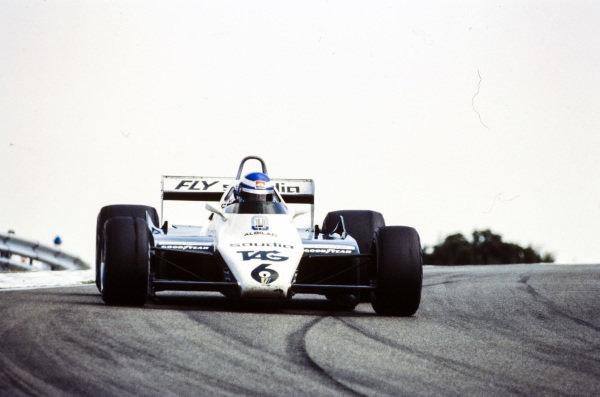 Keke Rosberg, Williams FW08 Ford.