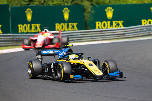 HUNGARORING, HUNGARY - AUGUST 03: Luca Ghiotto (ITA, UNI VIRTUOSI) during the Hungaroring at Hungaroring on August 03, 2019 in Hungaroring, Hungary. (Photo by Joe Portlock / LAT Images / FIA F2 Championship)