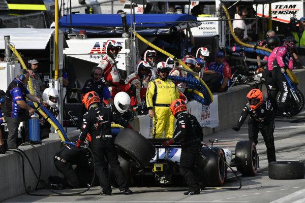 Ben Hanley, DragonSpeed Chevrolet pit stop