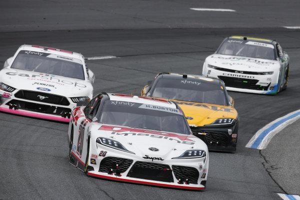 #20: Harrison Burton, Joe Gibbs Racing, Toyota Supra DEX Imaging, #54: Christopher Bell, Joe Gibbs Racing, Toyota Supra DEWALT