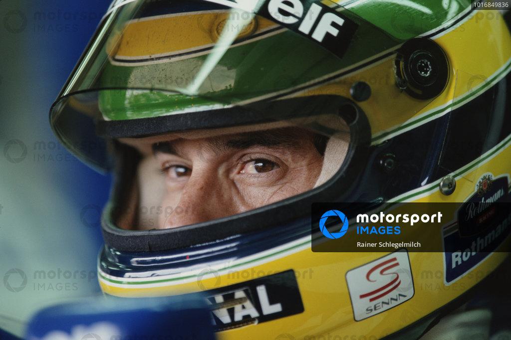 Ayrton Senna, Williams.