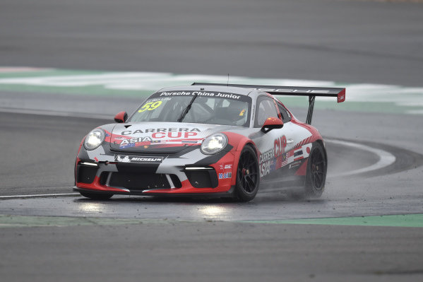 Daniel LU Wenlong (CHN) Porsche China Junior Team at Porsche Carrera Cup Asia, Shanghai, China, 13-15 April 2018.