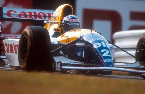 1993 Japanese Grand Prix.Suzuka, Japan.22-24 October 1993.Alain Prost (Williams FW15C Renault) 2nd position.Ref-93 JAP 08.World Copyright - LAT Photographic