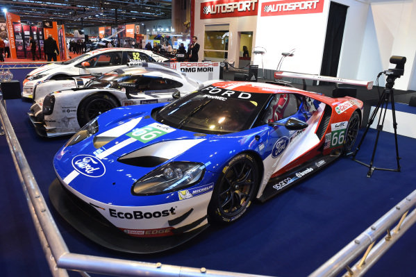 2016 Ford GT Le Mans at Autosport International Show, NEC, Birmingham, England, 14-17 January 2016.