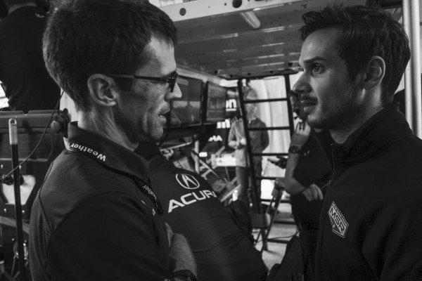 #86 Meyer Shank Racing w/Curb-Agajanian Acura NSX GT3, GTD: Mario Farnbacher, Lee Niffenegger