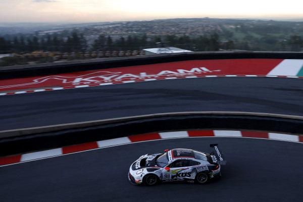 #911 KUS Team 75 Bernhard Porsche 911 GT3 R: Romain Dumas, Sven Müller, Dirk Werner.