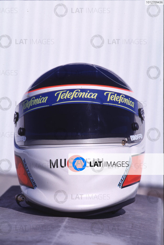 Gaston Mazzacane - 2000 Helmet Photo | Motorsport Images