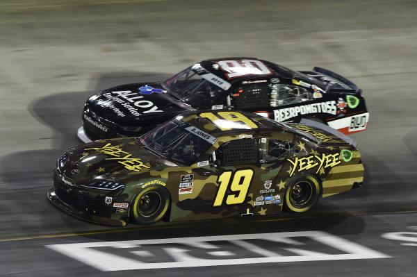 #19: Brandon Jones, Joe Gibbs Racing, Toyota Supra YeeYee, #90: Spencer Boyd, DGM Racing, Chevrolet Camaro DGM Racing