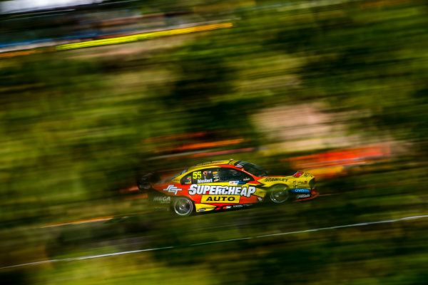 2017 Supercars Championship Round 6.  Darwin Triple Crown, Hidden Valley Raceway, Northern Territory, Australia. Friday June 16th to Sunday June 18th 2017. Chaz Mostert drives the #55 Supercheap Auto Racing Ford Falcon FGX. World Copyright: Daniel Kalisz/LAT Images Ref: Digital Image 160617_VASCR6_DKIMG_1739.JPG