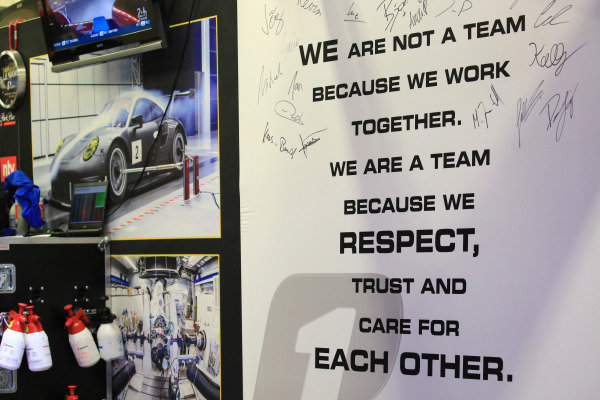 #56 Team Project 1 Porsche team area