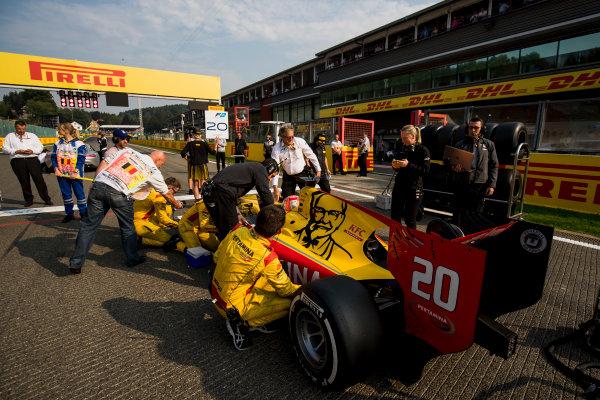 2017 FIA Formula 2 Round 8. Spa-Francorchamps, Spa, Belgium. Sunday 27 August 2017. Norman Nato (FRA, Pertamina Arden).  Photo: Zak Mauger/FIA Formula 2. ref: Digital Image _54I2871