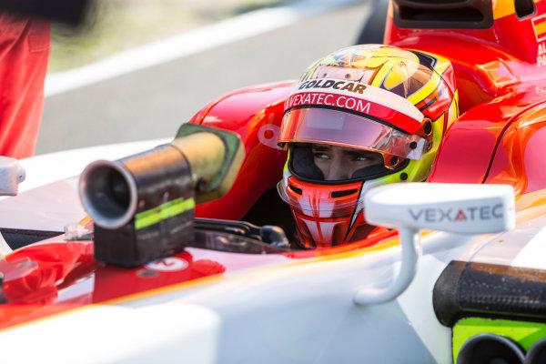 2017 FIA Formula 2 Round 10. Circuito de Jerez, Jerez, Spain. Sunday 8 October 2017. Alex Palou (JPN, Campos Racing).  Photo: Andrew Ferraro/FIA Formula 2. ref: Digital Image _FER3219