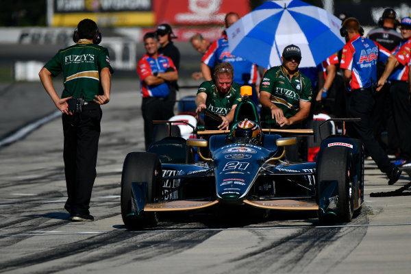 Verizon IndyCar Series ABC Supply 500 Pocono Raceway, Long Pond, PA USA Saturday 19 August 2017 JR Hildebrand, Ed Carpenter Racing Chevrolet World Copyright: Scott R LePage LAT Images ref: Digital Image lepage-170819-poc-0590