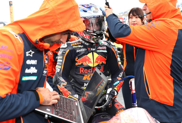 2017 Moto3 Championship - Round 15 Motegi, Japan. Sunday 15 October 2017 Niccolo Antonelli, Red Bull KTM Ajo World Copyright: Gold and Goose / LAT Images ref: Digital Image 22604