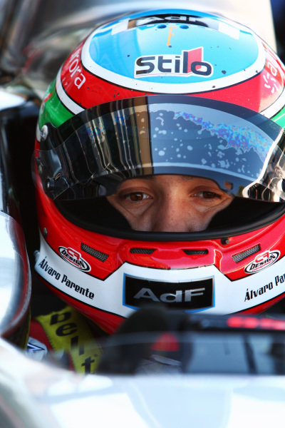 Alvaro Parente (POR) Scuderia Colini. GP2 Series, Rd 9, Practice and Qualifying, Monza, Italy, Friday 10 September 2010.