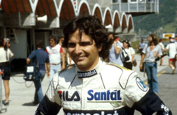 Rio de Janeiro, Brazil.11-13 March 1983.Nelson Piquet (Brabham BMW) 1st position.Ref-83 BRA 08.World Copyright - LAT Photographic
