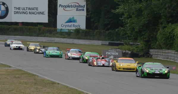 6-7 July, 2012, Lakeville, Connecticut USA#01 Extreme Speed Motorsports Ferrari F458 Italia(c)2012 Dan R. Boyd LAT Photo USA