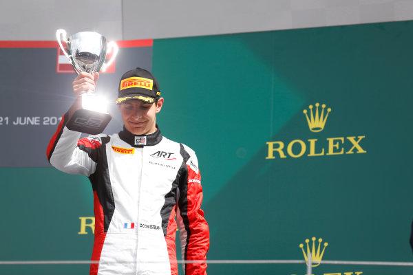 2015 GP3 Series Round 2. Red Bull Ring, Spielberg, Austria. Sunday 21 June 2015. Esteban Ocon (FRA, ART Grand Prix)  Photo:  Alastair Staley/GP3 Media Service ref: Digital Image _R6T4972