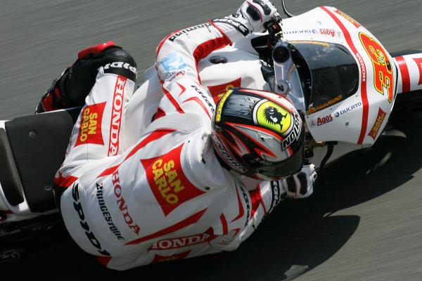 Germany Sachsenring 16-18 July 2010Marco Melandri San Carlo Honda Gresini