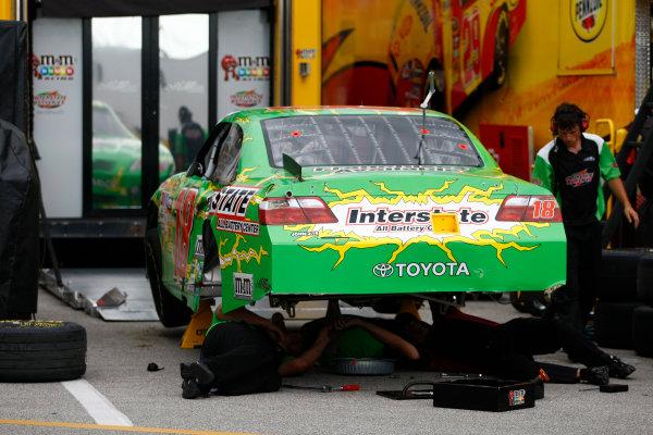 1 - 3 July, 2010, Daytona Beach, Florida, USAKyle Busch's crashed wrecked race car© 2010 - LAT South USALAT Photographic