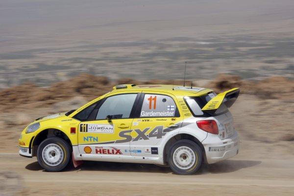 2008 FIA World Rally ChampionshipRound 5Jordan Rally 24-27 of April 2008Toni Gardemeister, Suzuki WRC, Action.Worldwide Copyright: McKlein/LAT