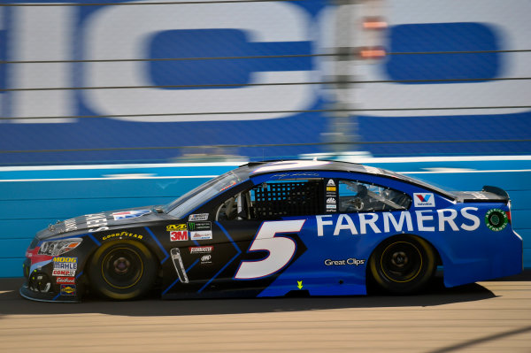 Monster Energy NASCAR Cup Series Can-Am 500 Phoenix Raceway, Avondale, AZ USA Sunday 12 November 2017 Kasey Kahne, Hendrick Motorsports, Farmers Insurance Chevrolet SS World Copyright: Nigel Kinrade LAT Images