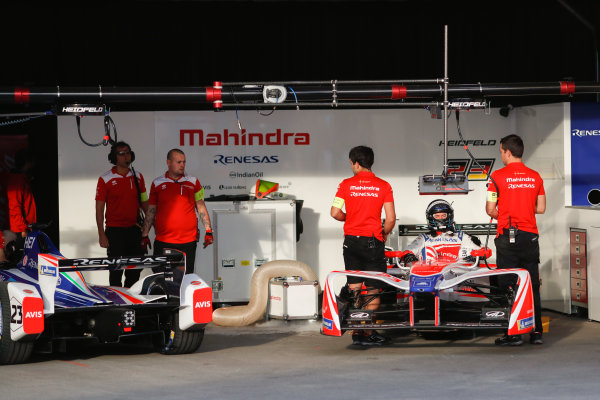 2017/2018 FIA Formula E Championship. Round 1 - Hong Kong, China. Saturday 02 December 2017. Nick Heifeld (GER), Mahindra Racing, Mahindra M4Electro. Photo: Alastair Staley/LAT/Formula E ref: Digital Image _ALS5442