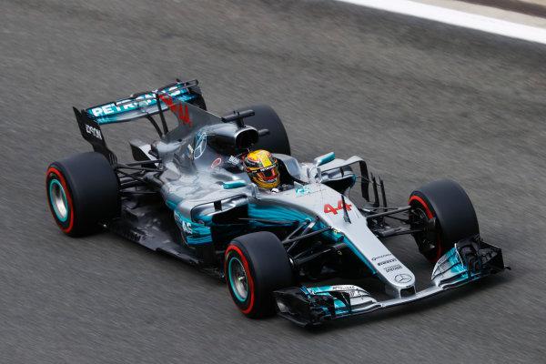 Spa Francorchamps, Belgium.  Saturday 26 August 2017. Lewis Hamilton, Mercedes F1 W08 EQ Power+.  World Copyright: Steven Tee/LAT Images  ref: Digital Image _R3I9727